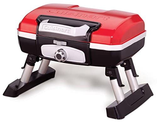 Cuisinart CGG-180T Tabletop Gas Grill, Red