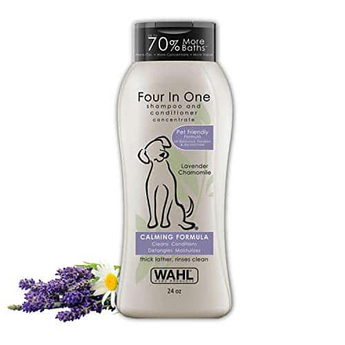 Wahl Four in One Dog Shampoo and Conditioner