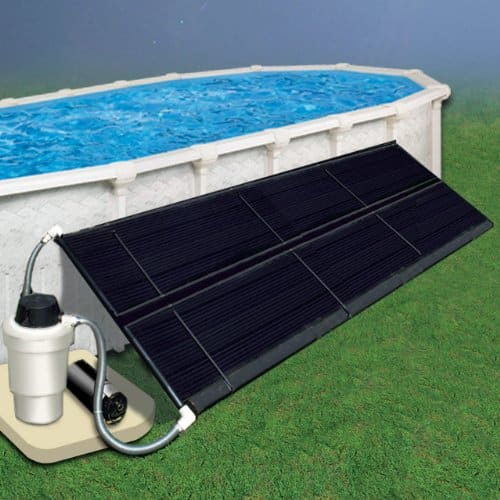 Doheny's Above Ground Solar Heating Systems-2.5x20 Solar Heating 1 Collector, All Hardware