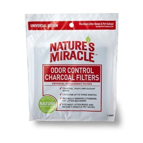Natures Miracle Odor Control Universal Charcoal Filter