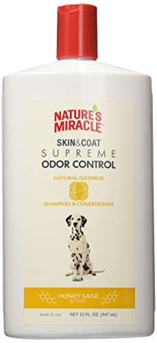 Nature's Miracle Supreme Odor Control Natural Oatmeal Shampoo & Conditioner