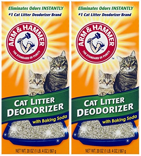 Arm & Hammer Cat Litter Deodorizer with Activated Baking Soda