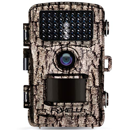 Foxelli Trail Camera—14MP 1080P Full HD Wildlife Scouting Hunting Camera