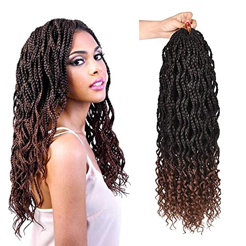 AliRobam Box Crochet Braids Braiding Hair Extensions For African Braids