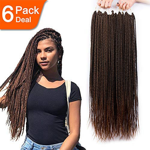 6 Pack/Lot Box Braids
