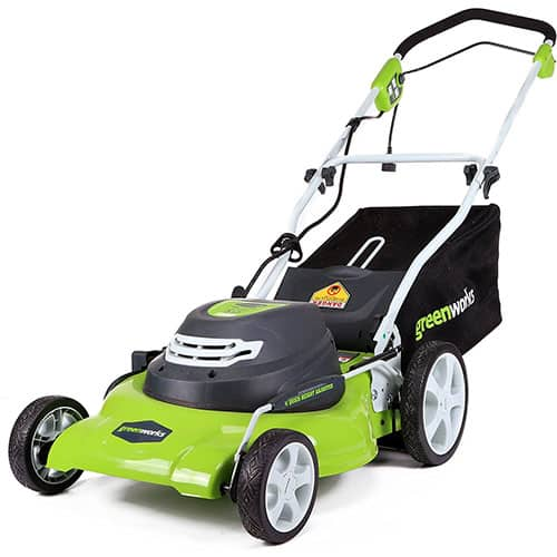 Greenworks 3-in-1 12-Amp Electric Corless Lawn Mower