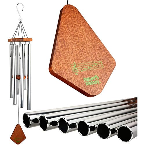 Nature's Melody Premiere Grande Tunes Wind Chimes – Outdoor Windchime