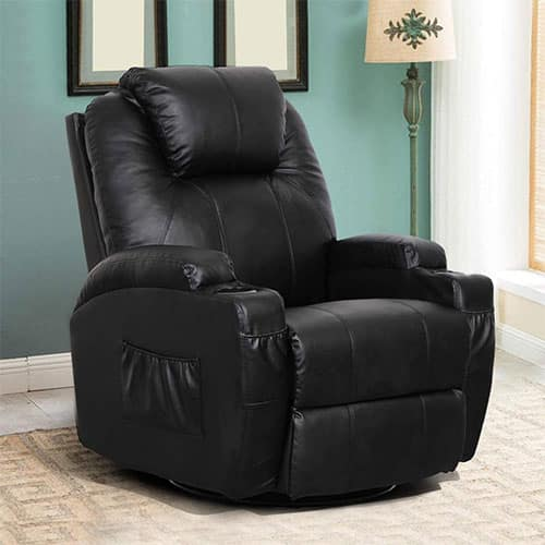 ESRIGHT HEATED MASSAGE RECLINER