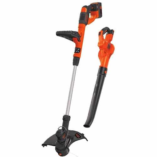 Black + Decker 40V Cordless Sweeper and String Trimmer