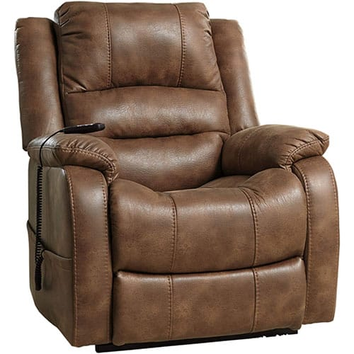 SIGNATURE DESIGN BY ASHLEY YANDEL POWER LIFT OVERSIZED RECLINER
