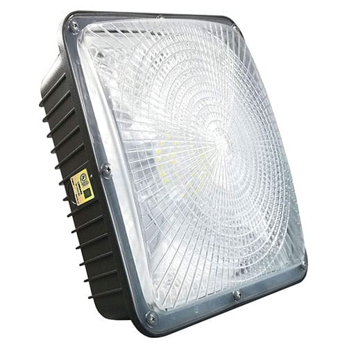 LED Canopy Light with UL Listed and DLC Certified,5000K,8625LM,300-350W HPS/HID