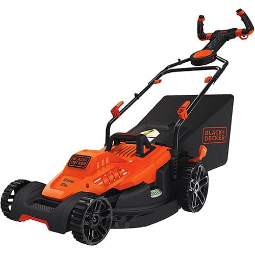 Black +Decker BEMW482ES Electric Mower