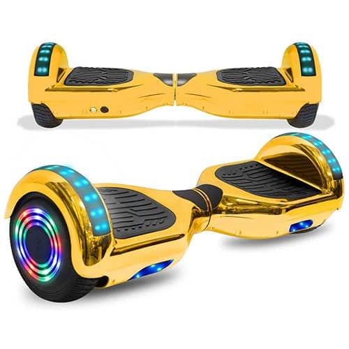 CHO Colorful Wheels Series Hoverboard Safety Certified Hover Board Electric Scooter