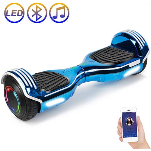 SISIGAD Hoverboard Self Balancing Scooter Hoverboard Plating Dazzle Series