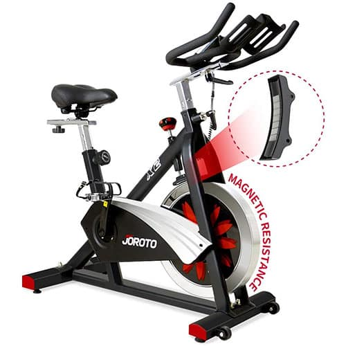 JOROTO's X2 Belt Drive Indoor Cycling Bike