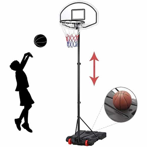 Yaheetech Kids Portable Basketball Hoop System