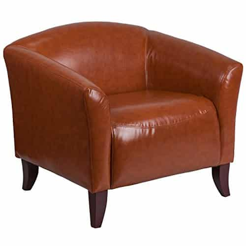 Flash Furniture HERCULES Imperial Series Cognac Leather Soft Chair
