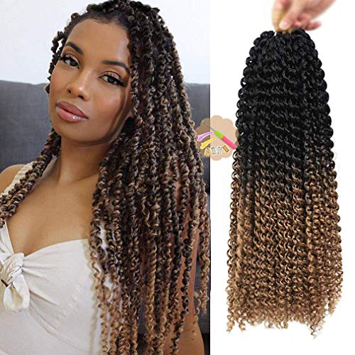 Youngther 7 Packs 18 Inch Passion Twist Hair