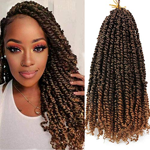 Dorsanee Store 8 Packs Pre-twisted Passion Twist Hair