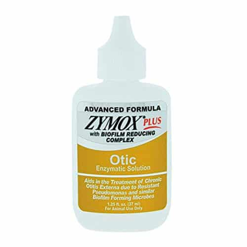 Zymox Advanced Formula Otic Plus Enzymatic Ear Solution for Dogs and Cats without Hydrocortisone