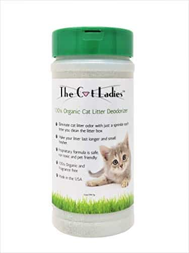 Cat Litter Box Odor Neutralizer by The Cat Ladies